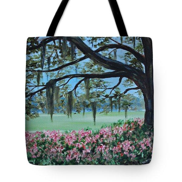 Savannah Spring Tote Bag