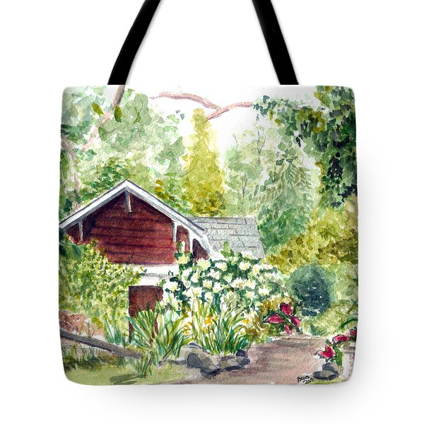 Sayen Woods Tote Bag