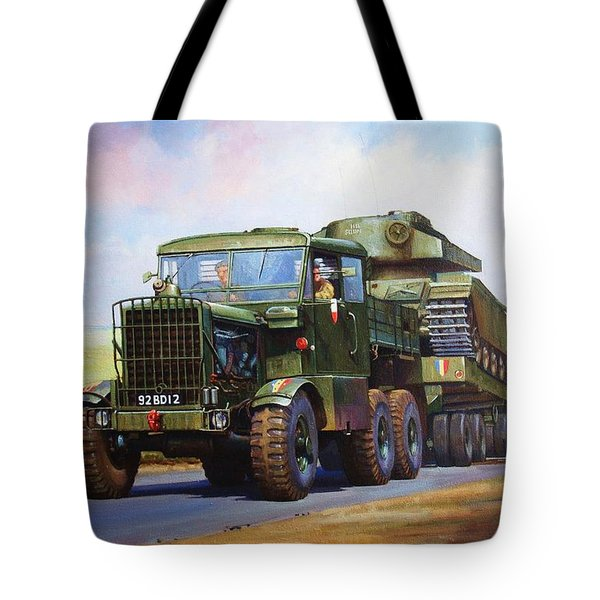 Scammell Explorer. Tote Bag by Mike  Jeffries