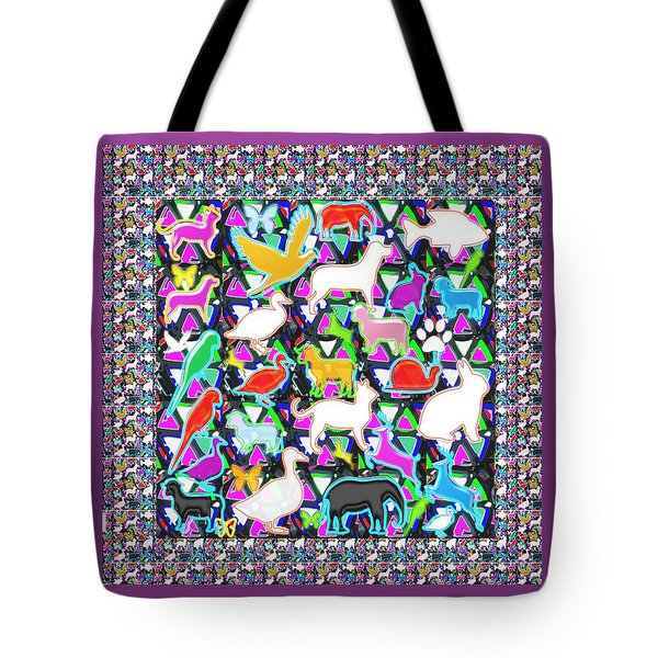 School Kids Animal Birds Fish Deco Navin Joshi Rights Managed Images Graphic Design Is A Strategic A Tote Bag