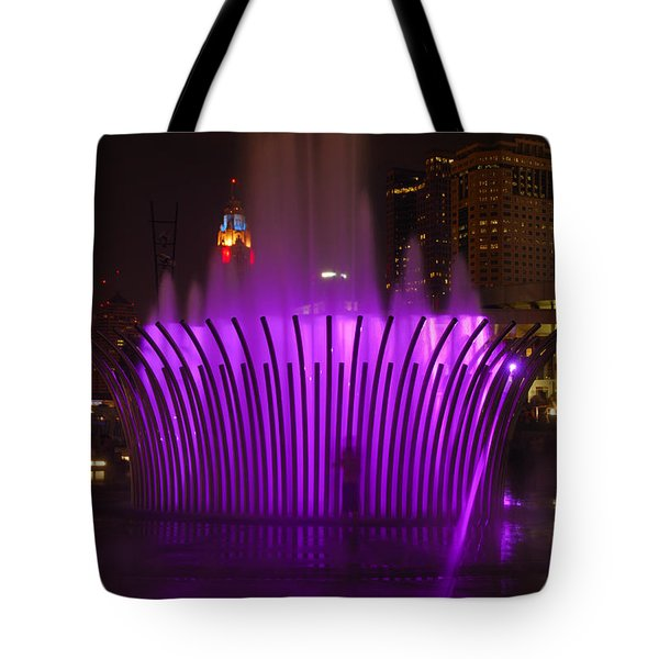 D101l-11 Scioto Mile Riverfront Park Photo Tote Bag