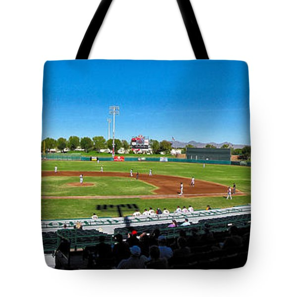Scottsdale Stadium Tote Bag