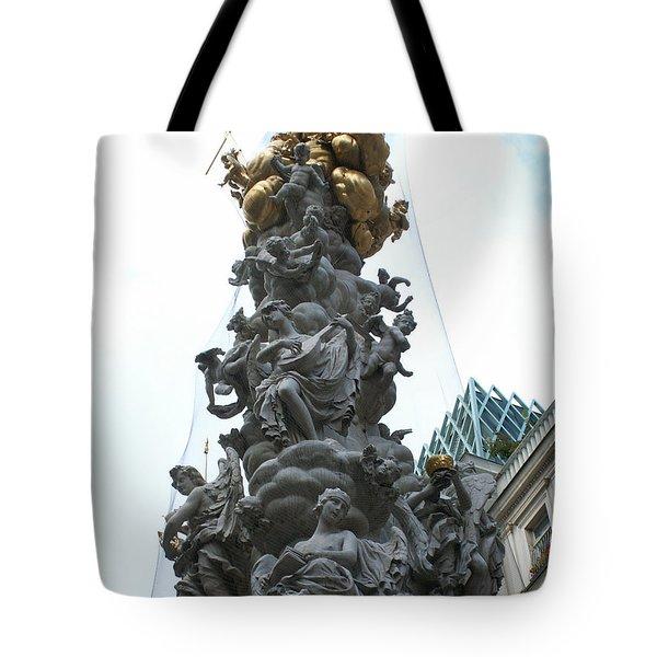 Sculpture Tote Bag by Evgeny Pisarev