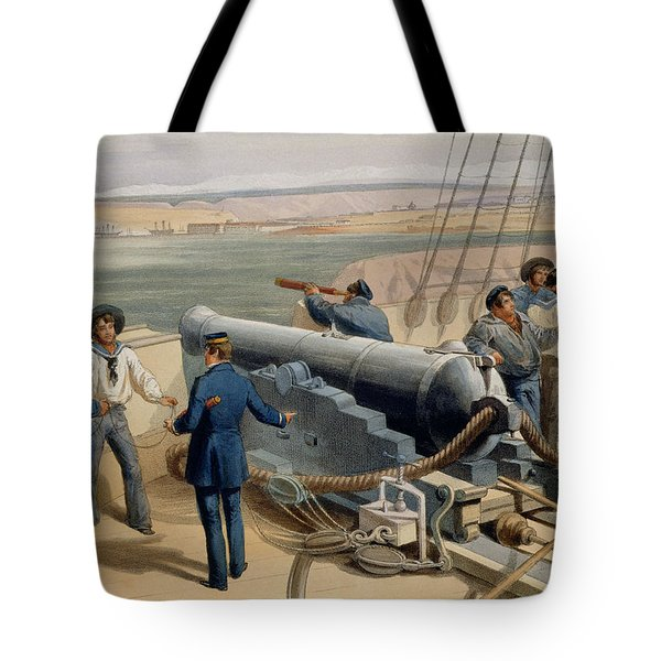 Sebastopol From The Sea, Plate From The Tote Bag
