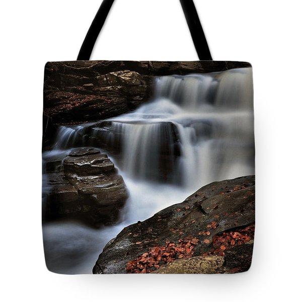 Secret Waterfall Tote Bag