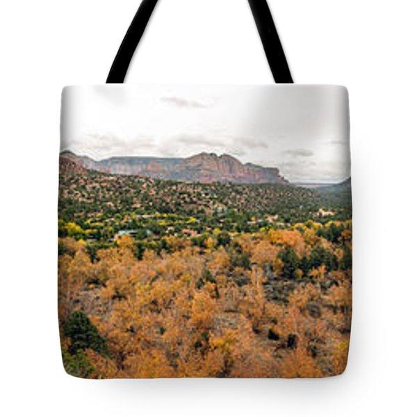 Sedona Panorama Tote Bag