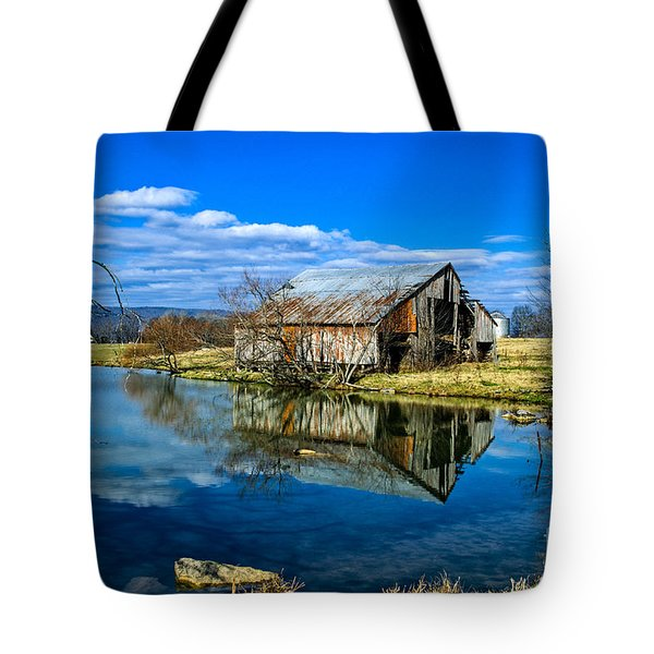 Sequatchie Valley Barn Tote Bag