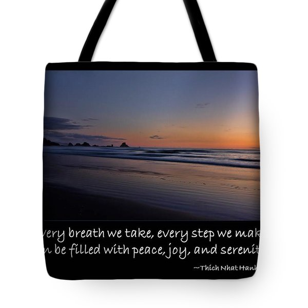 Serenity Tote Bag by Don Schwartz