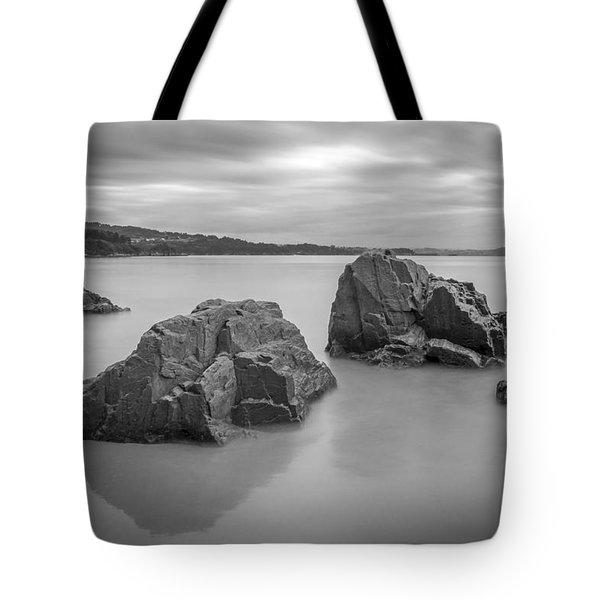 Tote Bag featuring the photograph Seselle Beach Galicia Spain by Pablo Avanzini