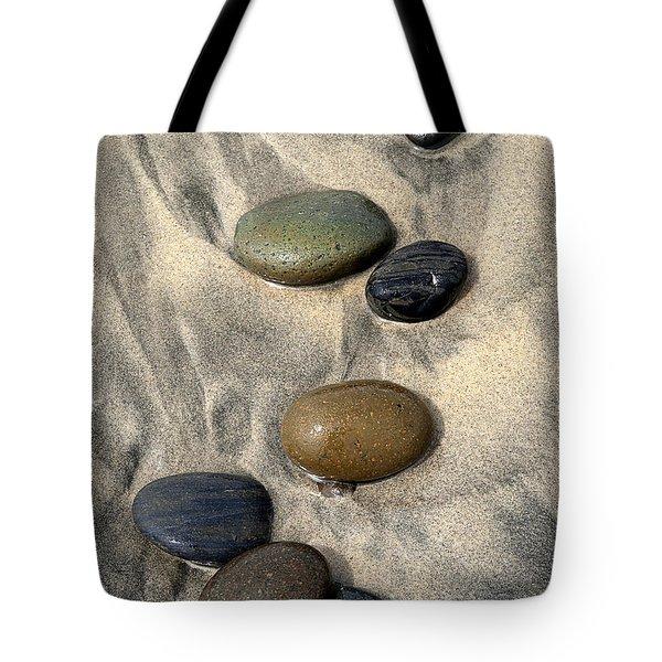 Seven Tote Bag by Joe Schofield