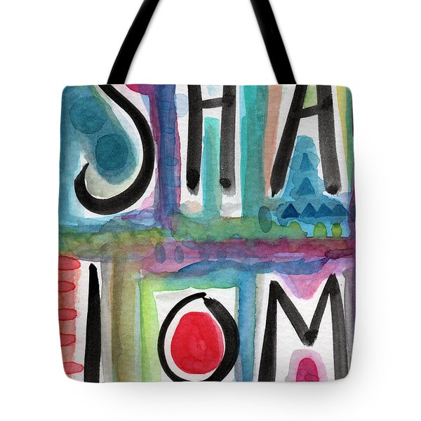Shalom Tote Bag by Linda Woods