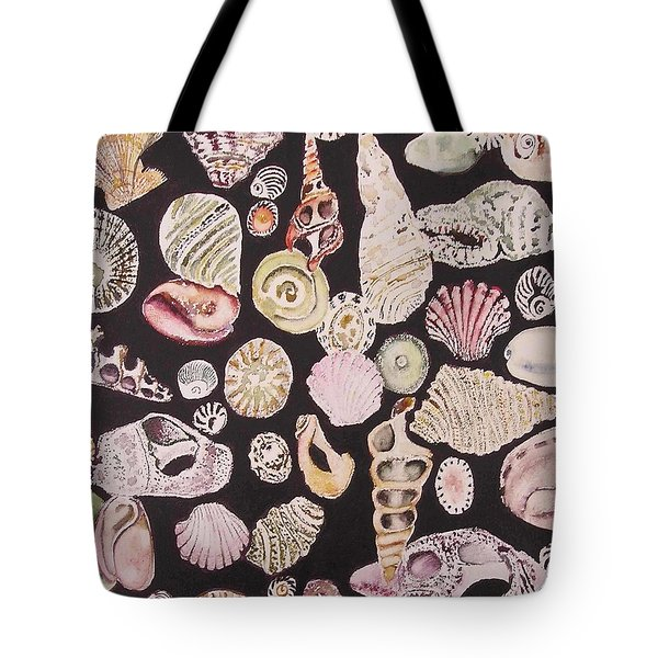 Shells By C . 1.3 Tote Bag by Cheryl Miller
