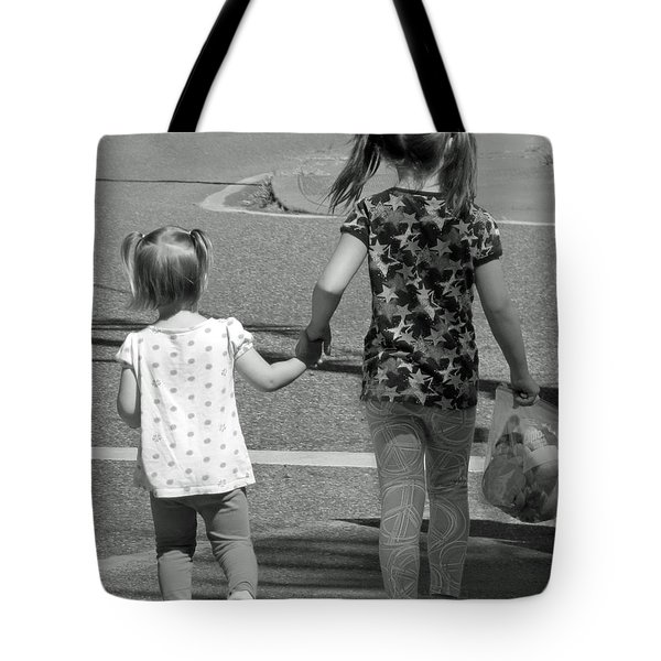She's My Sister Tote Bag by E Faithe Lester