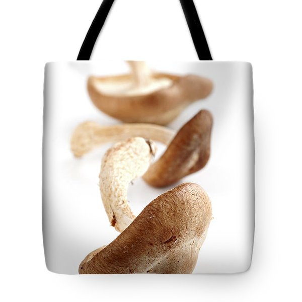 Shiitake Mushrooms Tote Bag