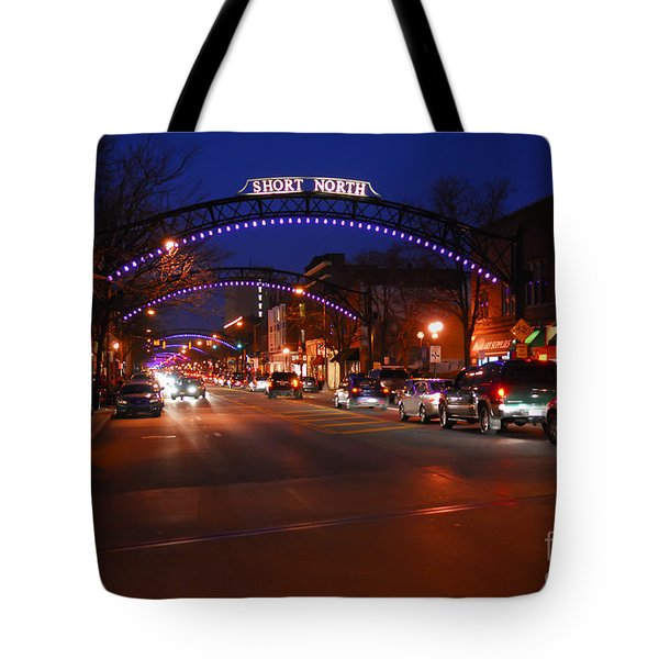D8l353 Short North Arts District In Columbus Ohio Photo Tote Bag