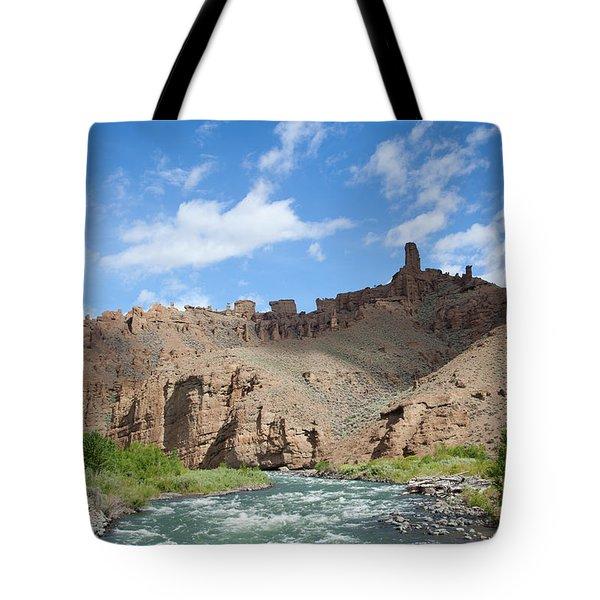 Shoshone River Tote Bag