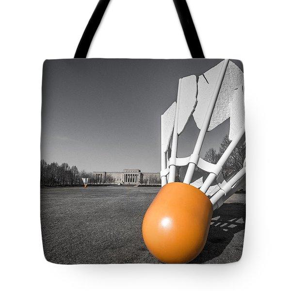 Shuttlecock Tote Bag