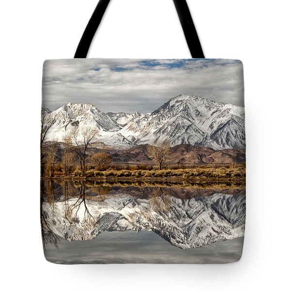 Sierra Reflections Tote Bag by Cat Connor