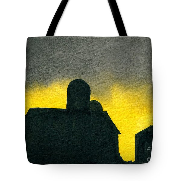 Silhouette Farm 2 Tote Bag