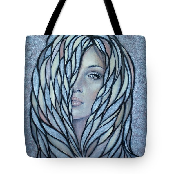 Silver Nymph 021109 Tote Bag by Selena Boron