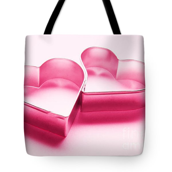 Simple Chrome Hearts On White Background Tote Bag by Michal Bednarek