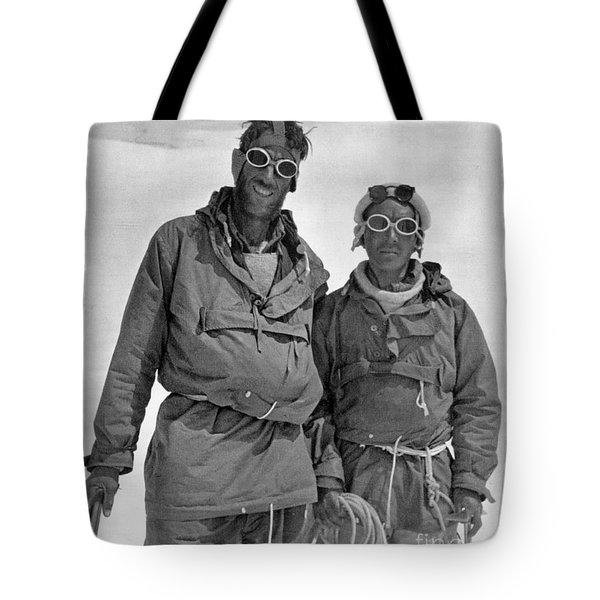 Sir Edmund Hillary Tote Bag by Granger