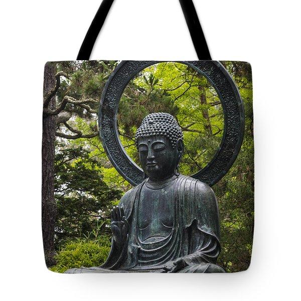 Sitting Buddha Tote Bag