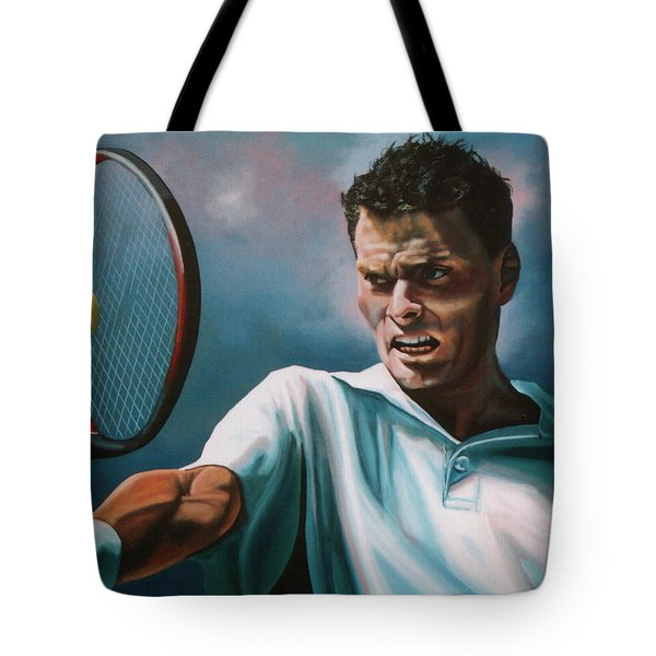 Sjeng Schalken Tote Bag by Paul Meijering