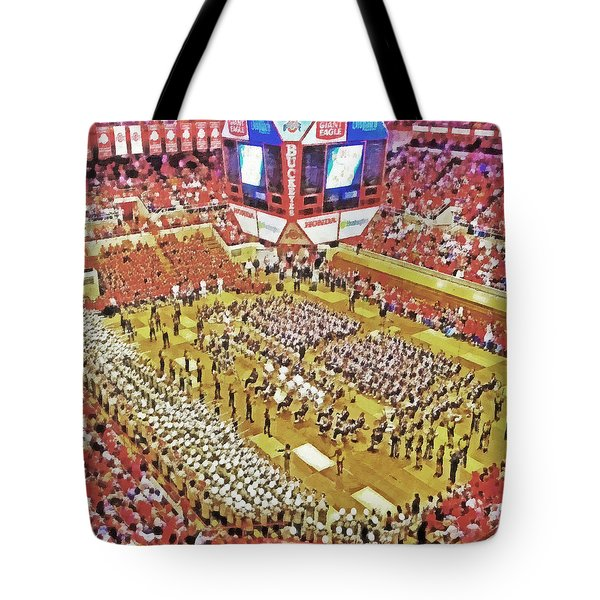 Skull Session At St. John Arena. 1 Tote Bag