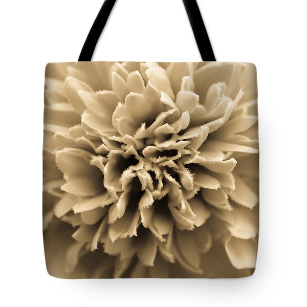 Skunk Flower Orange Tote Bag