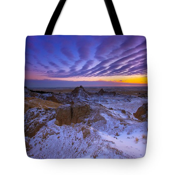 Tote Bag featuring the photograph Sky Lines by Kadek Susanto