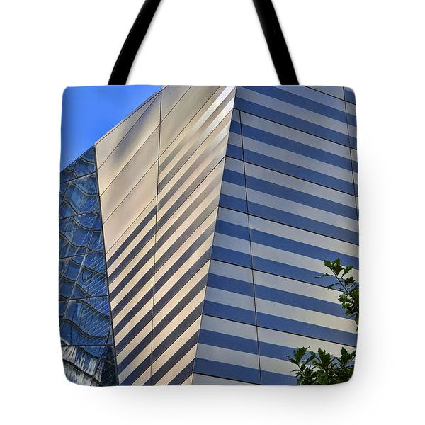 Skyscraper Abstract 4 Tote Bag by Allen Beatty