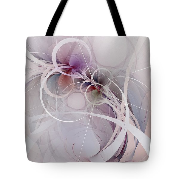 Tote Bag featuring the digital art Sleight Of Hand by NirvanaBlues