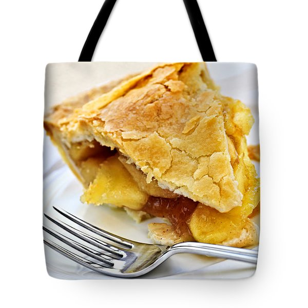 Slice Of Apple Pie Tote Bag by Elena Elisseeva