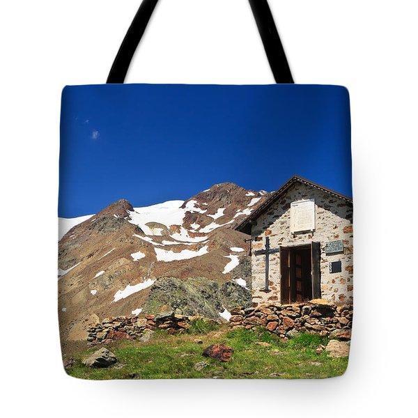 Small Chapel  Tote Bag by Antonio Scarpi