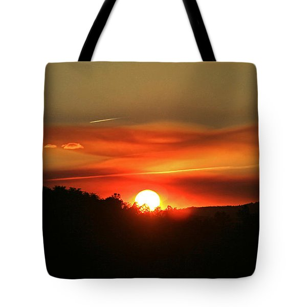 Smokin' Payson Sunset Tote Bag