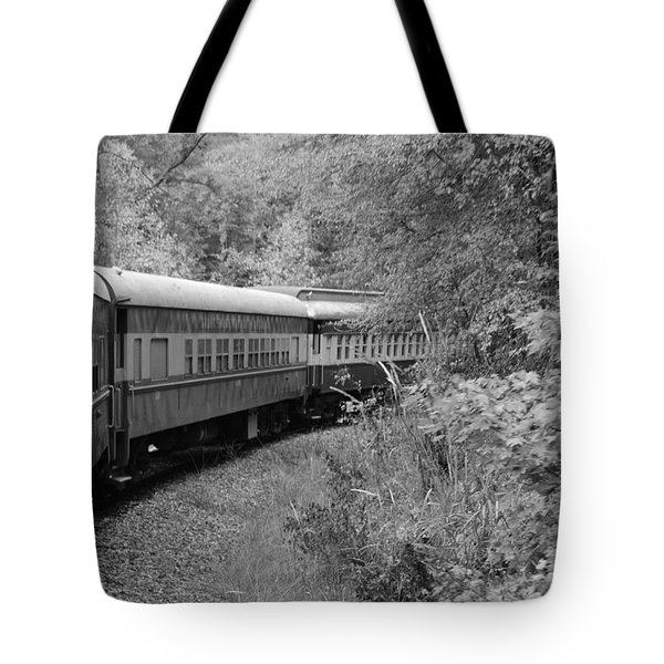 Tote Bag featuring the photograph Smoky Mountian Escape by Cathy Shiflett