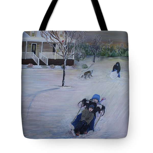 Snow Days Tote Bag