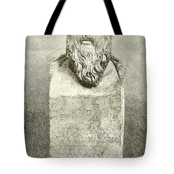 Socrates Tote Bag by English School
