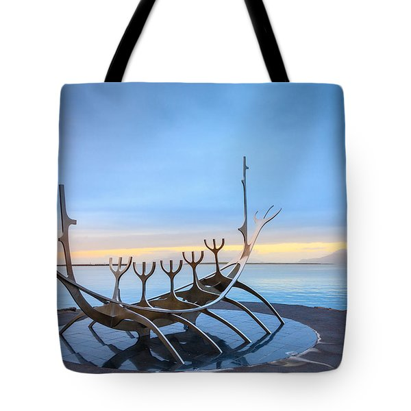 Solfar Sun Voyager Tote Bag by Alexey Stiop