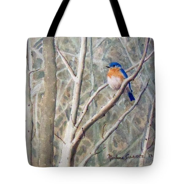 Something Blue Tote Bag