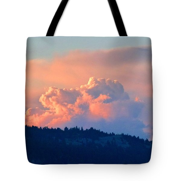 Soothing Sunset Tote Bag by Will Borden