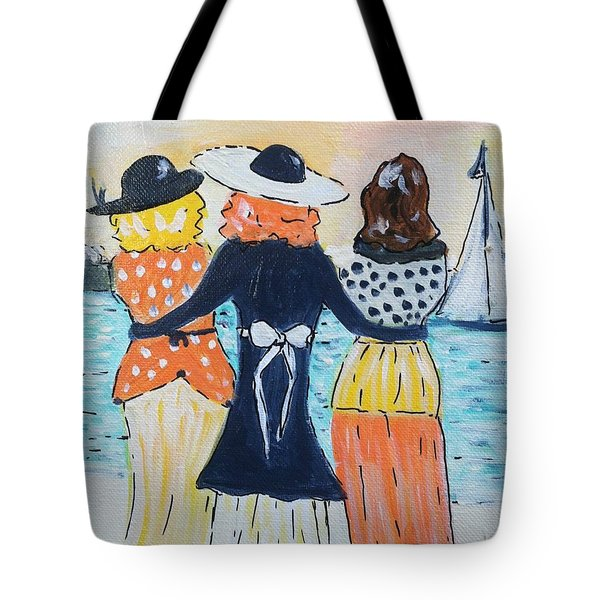 Soul Sisters At Sunset Tote Bag