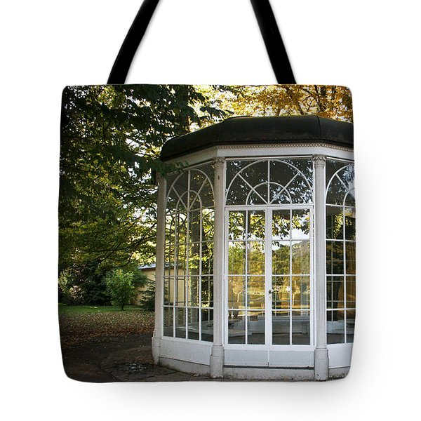 Tote Bag featuring the photograph Sound Of Music Gazebo by Silvia Bruno