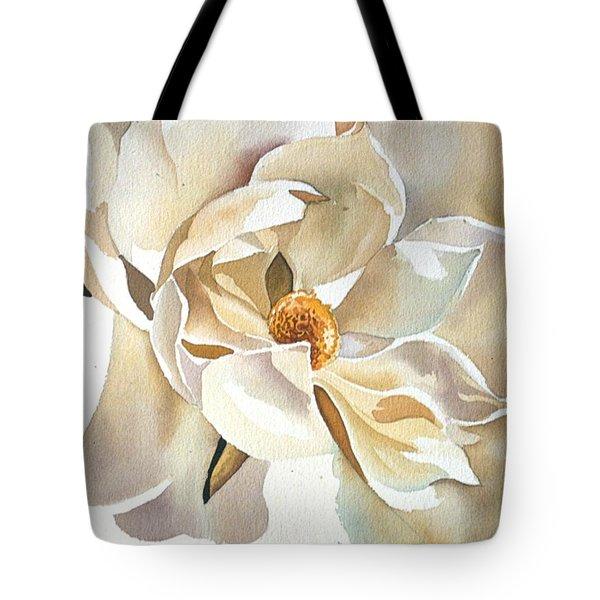 Southern Magnolia Tote Bag by Alfred Ng