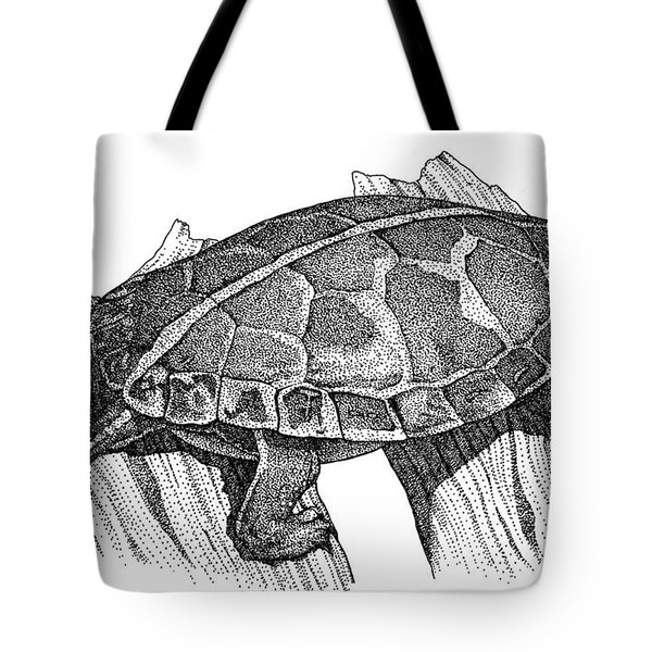 Southern Painted Turtle Tote Bag