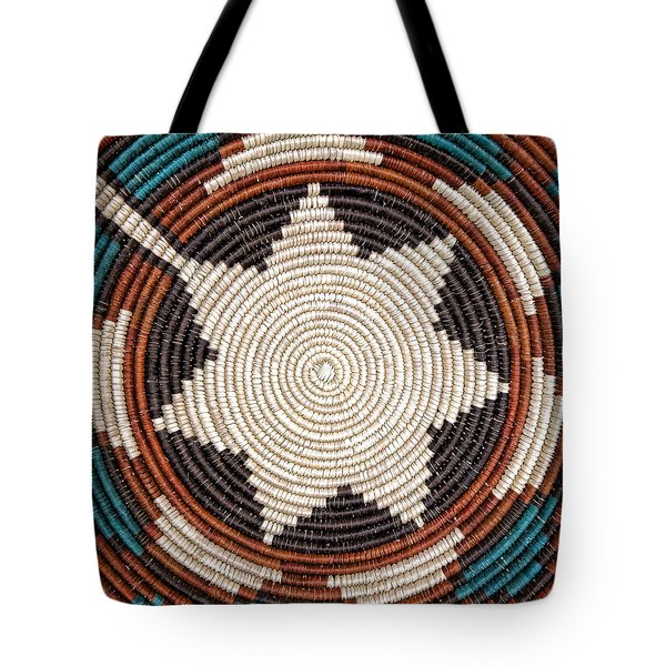 Southwestern Basket Detail Tote Bag