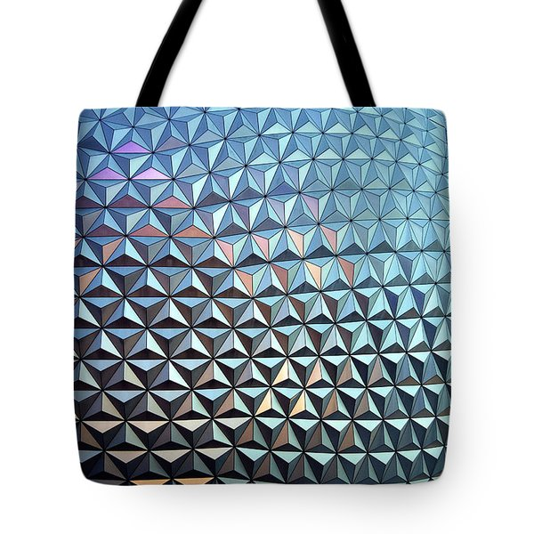 Tote Bag featuring the photograph Spaceship Earth by Cora Wandel