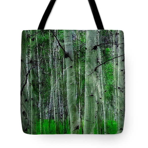 Spectacular Aspens Tote Bag