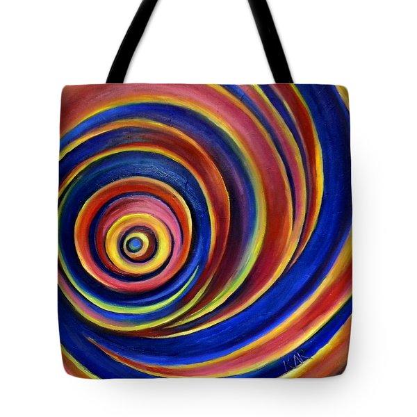 Spirals Tote Bag by Art by Kar